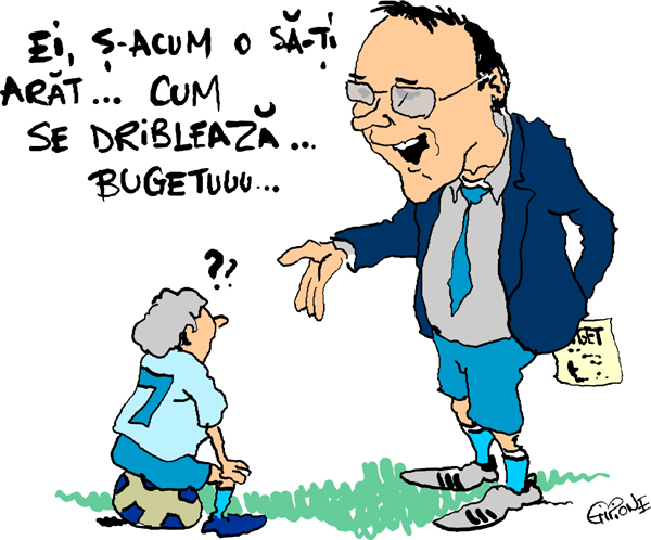 Caricatura Nichita buget-ww